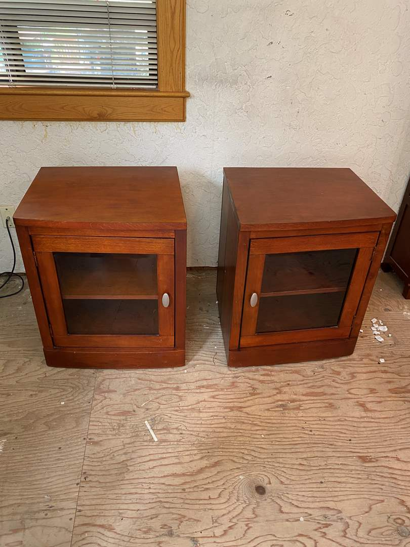 Lot # 4 - Pair of Matching Cabinets (main image)