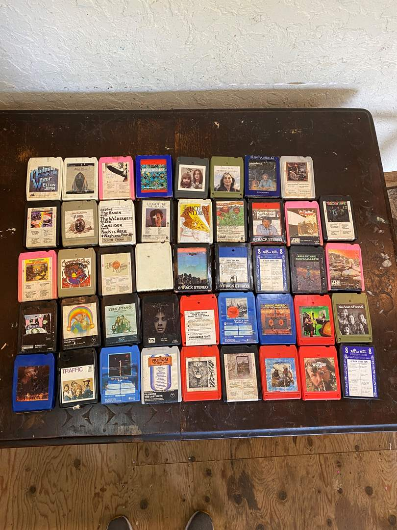 Lot # 12 - 8-Track Tapes (main image)