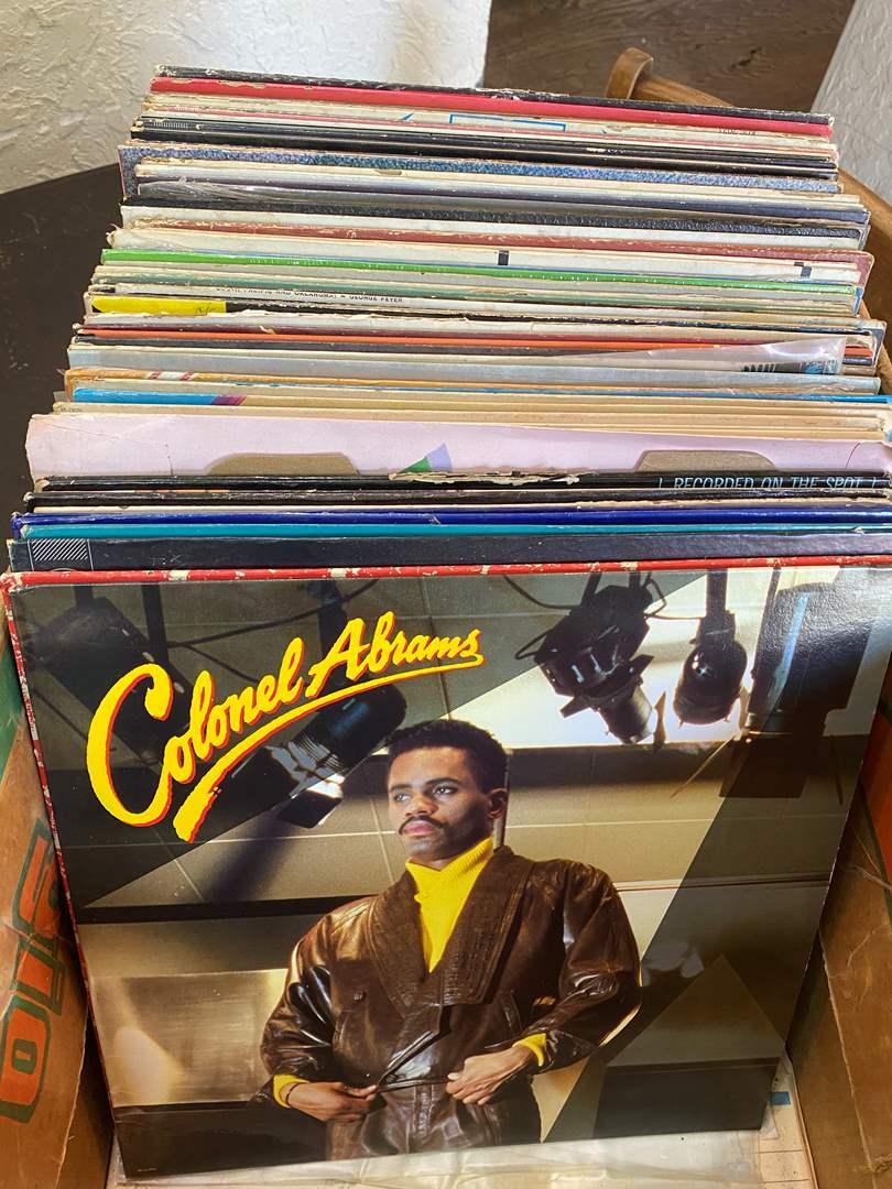 Lot # 14 - Vintage Vinyl (main image)