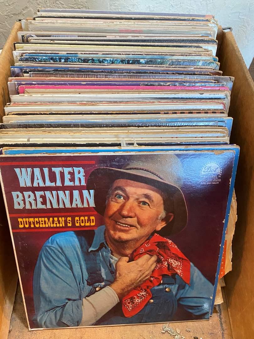 Lot # 16 - Vintage Vinyl (main image)