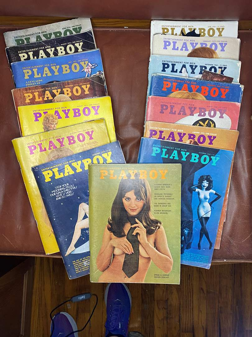 Lot # 176 - 1960's - 1970's Playboys (main image)