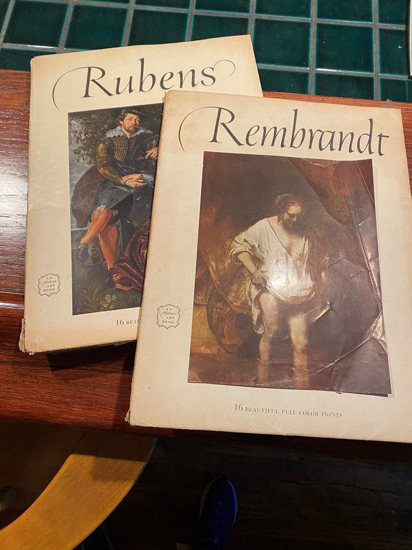 Lot # 178 - Full Color Prints by Ruben & Rembrandt (main image)