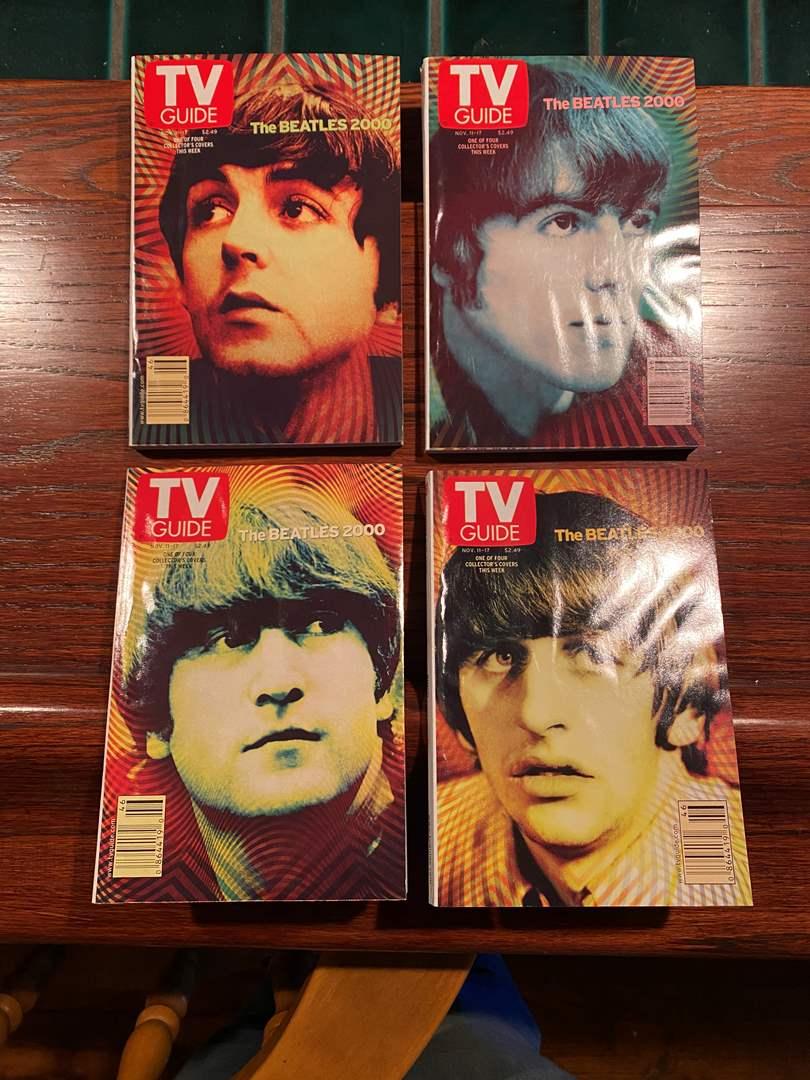 Lot # 179 - Beatles 2000 Series of TV Guides (main image)