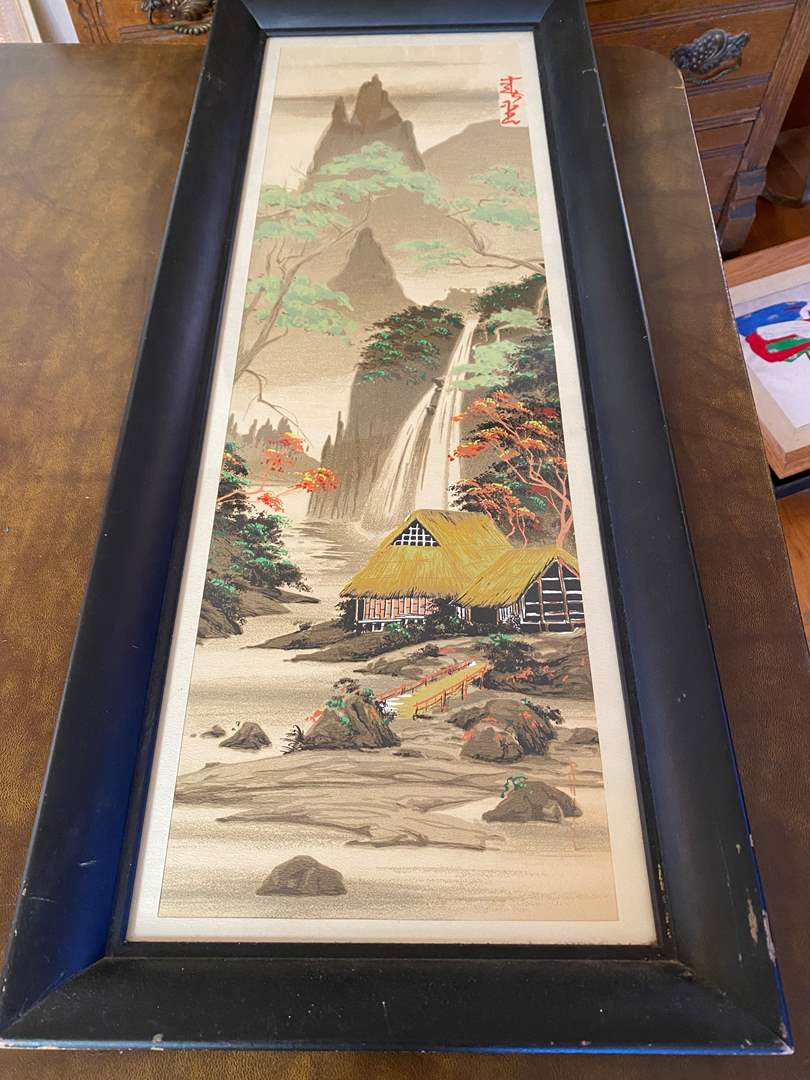 Lot # 186 - Japanese Block Print (main image)