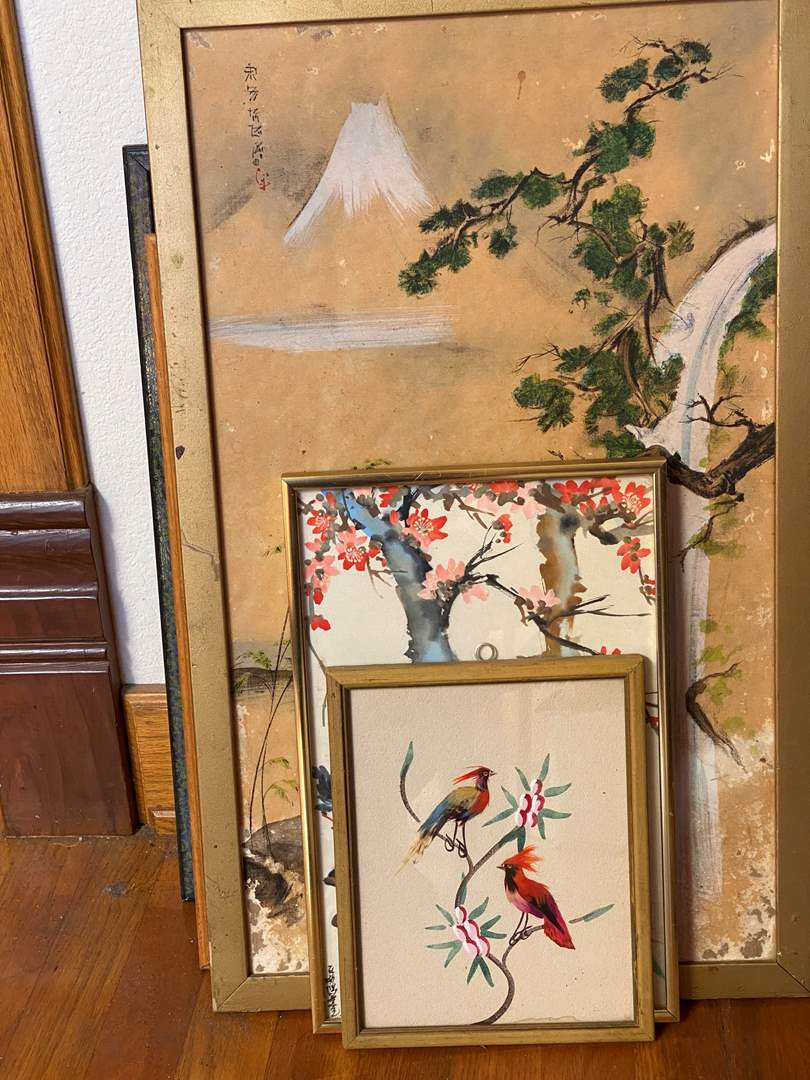 Lot # 190 - Collection of Art, Prints, and Silks  (main image)
