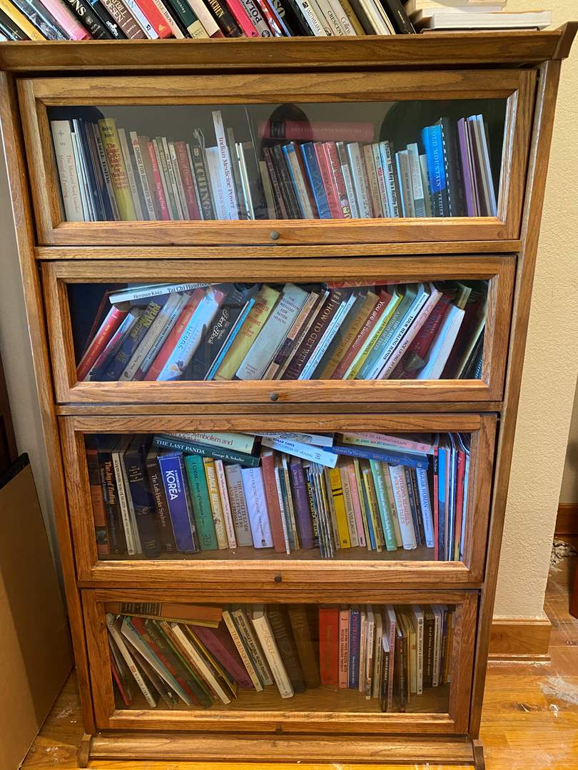 Lot # 192 - Lawyers Cabinet (books not included) (main image)