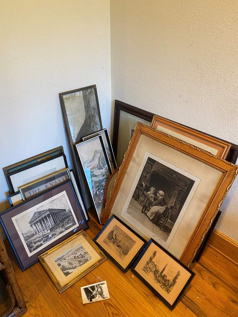 Lot # 197 - Collection of Framed Art Prints (main image)