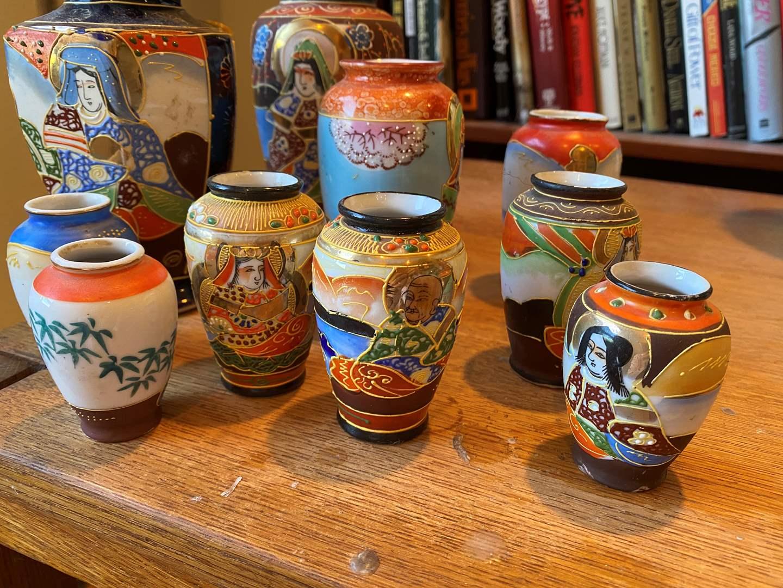 Lot # 198 - Set of Japanese Vases (main image)
