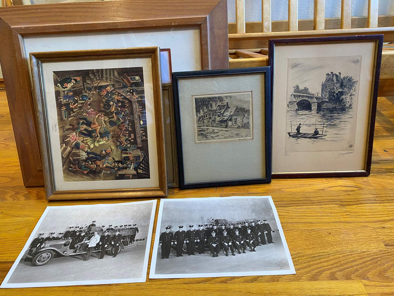 Lot # 202 - Framed Art & Photos (main image)