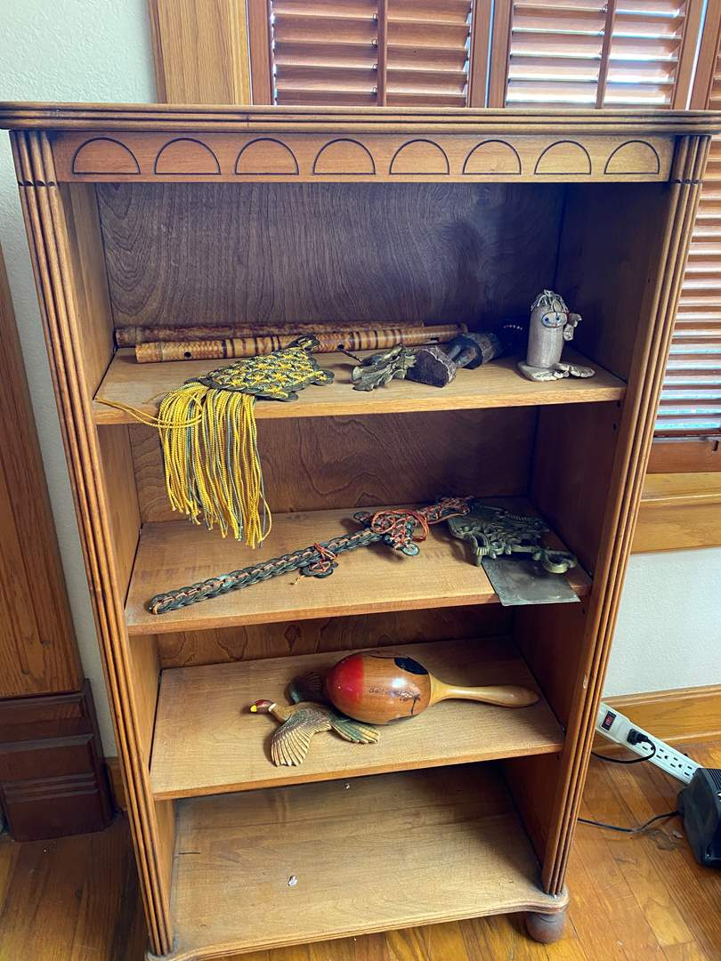 Lot # 212 - Bookcase with Contents (main image)