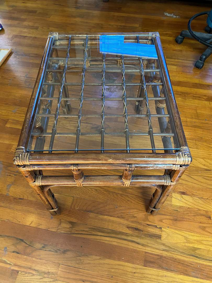 Lot # 213 - Bamboo End Table (main image)