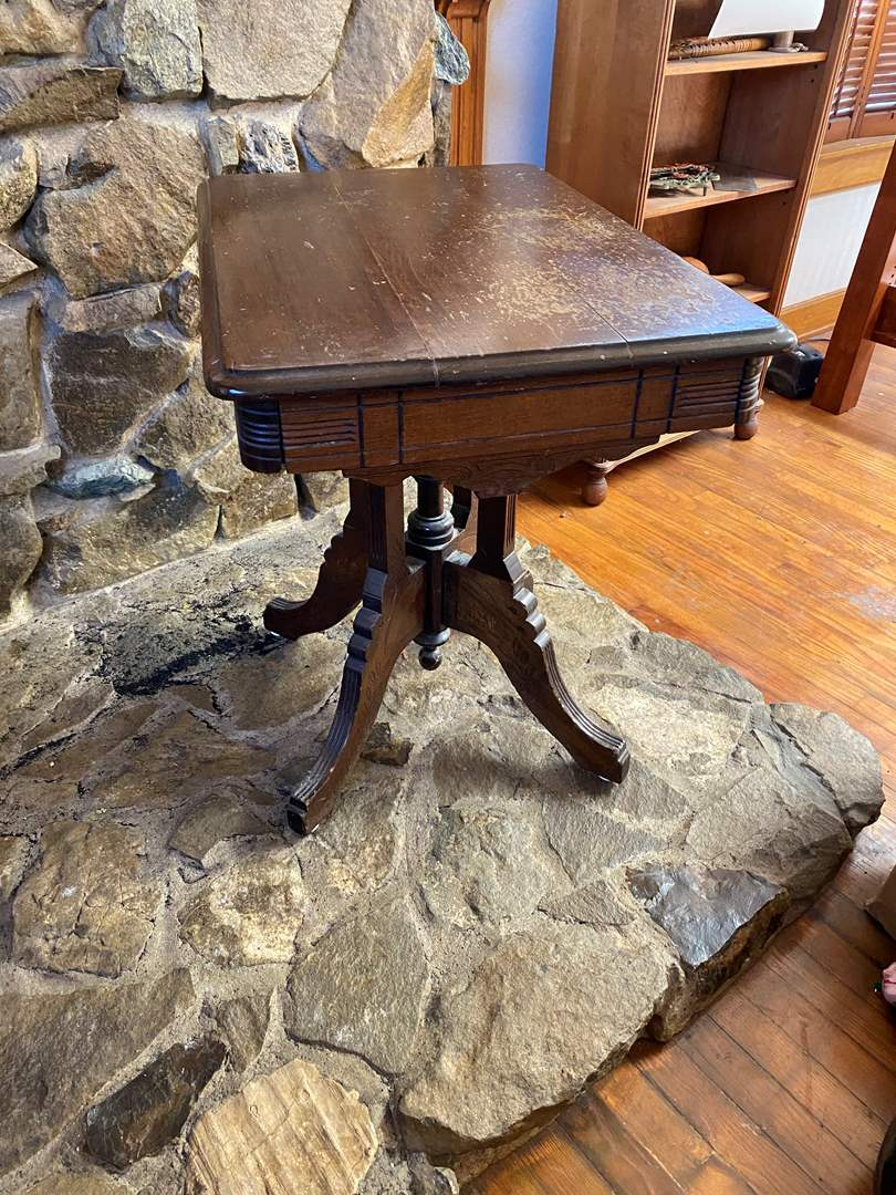 Lot # 214 - Small Antique Table (main image)