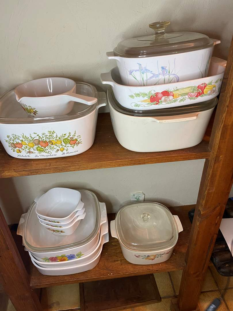 Lot # 54 - Corning Dishes (main image)