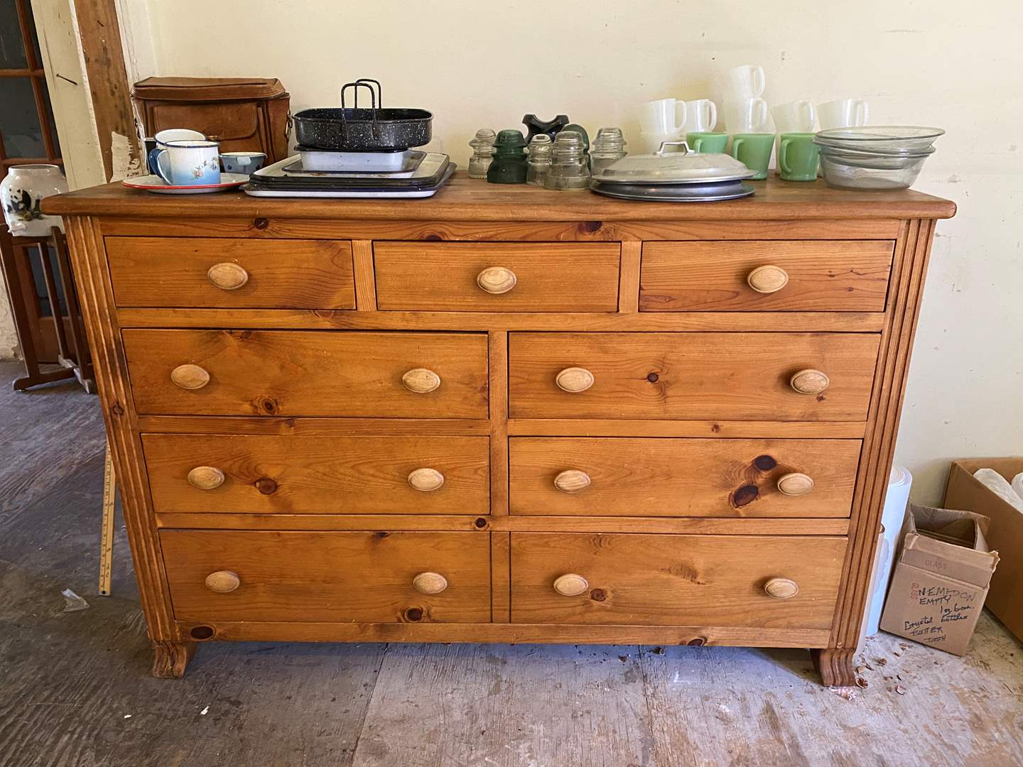 Lot # 56 - Solid Wood Dresser w/o Contents (main image)