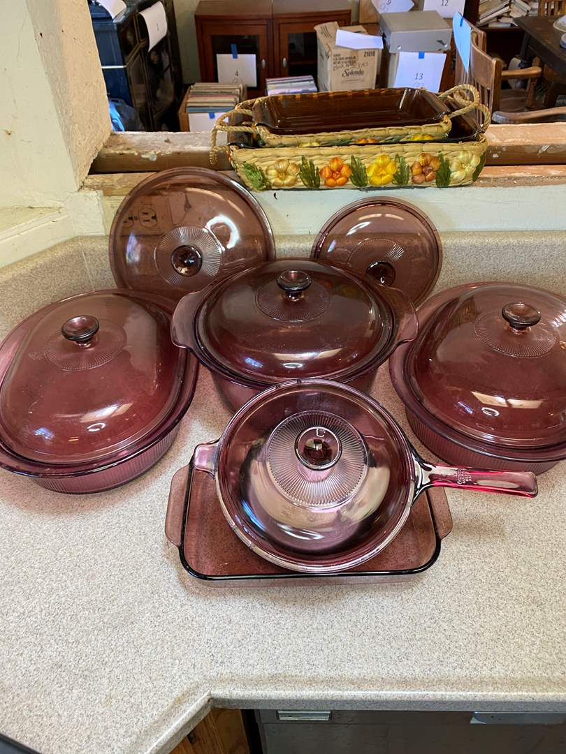Lot # 76 - Vision Corning Ware (main image)
