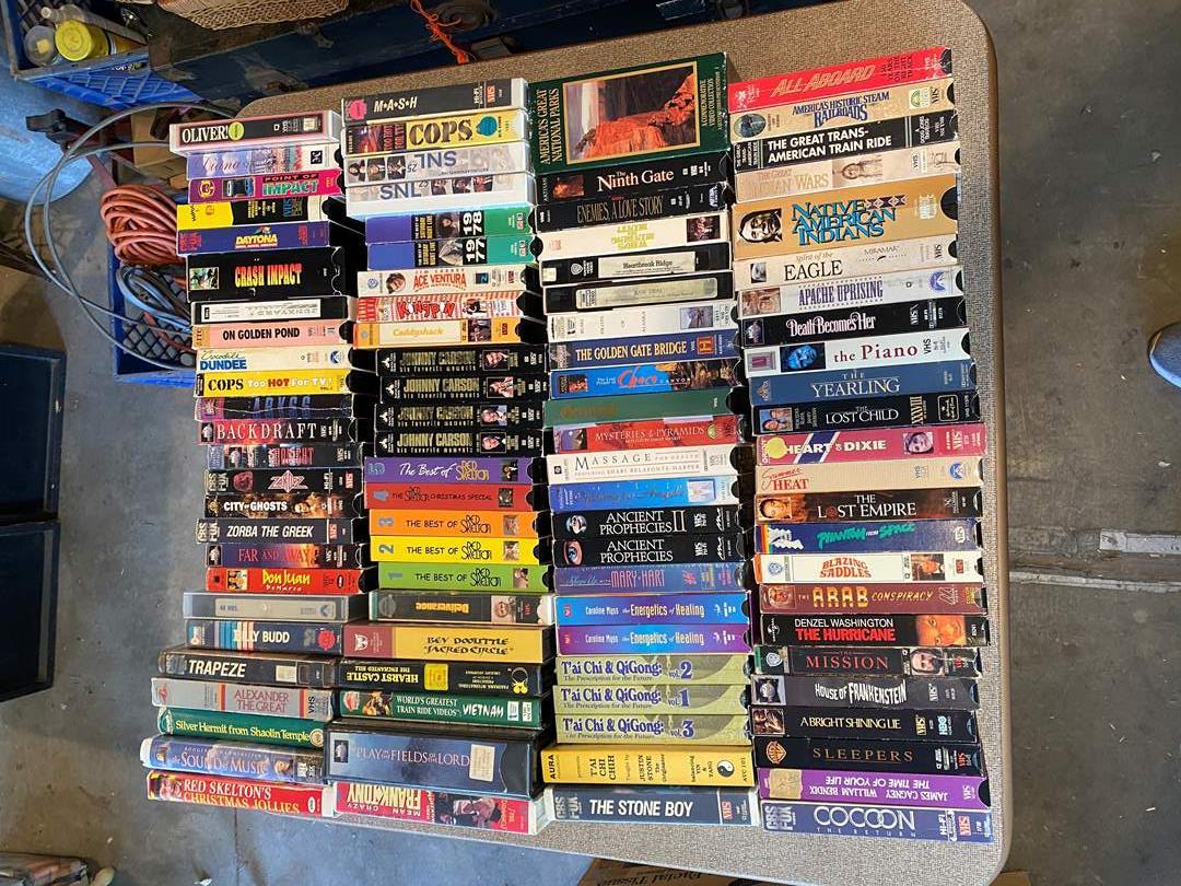 Lot # 15 - VHS (main image)