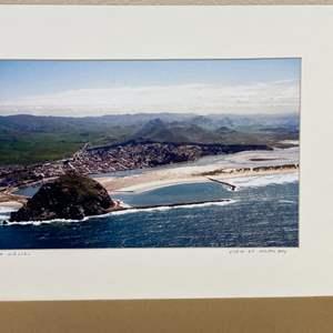 "Lot # 1 - ""View of Morro Bay"" Ralph Wessel, Artist Photo Print"