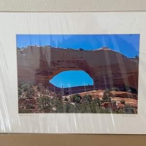 "Lot # 7 - 12x16 ""Arch Photo Op"" Ralph Wessel, Artist Photo Print"