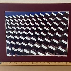 "Lot # 16 - 15x20 ""Spanish Balconies"" Ralph Wessel, Artist Photo Print"