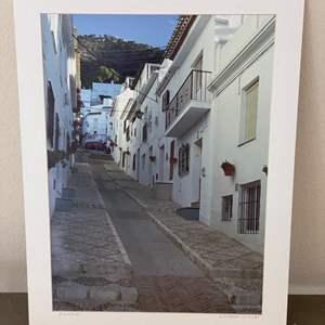 """Lot # 17 - 15x20 """"A Street in Mijas"""" Ralph Wessel, Artist Photo Print"""