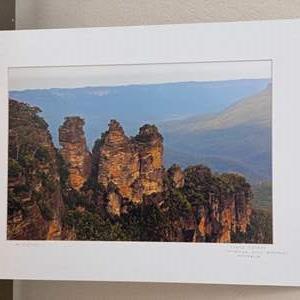 Lot # 22 - 16x20 Three Sisters Katoomba Blue Mountains, Australia Ralph Wessel, Artist Photo Print