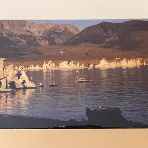 Lot # 29 - 12x18 Mono Lake II Ralph Wessel, Artist Photo Print
