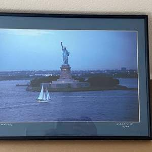 Lot # 31 - Framed 12x16 Liberty II Ralph Wessel, Artist Photo Print