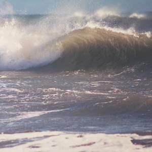 Lot # 32 - Framed 30x40 Morro Wave Ralph Wessel, Artist Photo Print