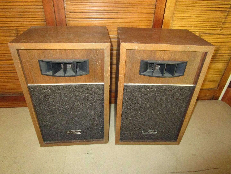Lot # 48 - Claricon Air Suspension Speaker Set (main image)