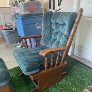 Lot # 5: Best Chairs, Inc. Glide Rocker