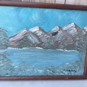 Lot # 46: Original Painting