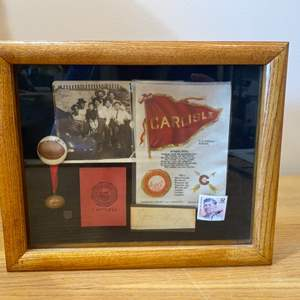 Lot # 6 - Jim Thorpe original signature and memorabilia