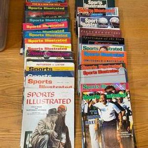 Lot # 8 - Vintage Sports Illustrated magazines