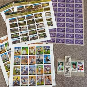 Lot # 19 - Sporting collector stamps