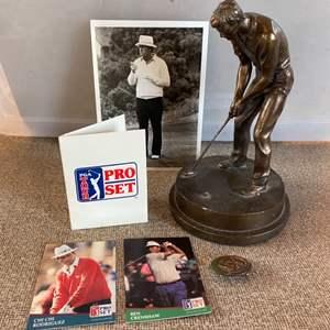 Lot # 20 - Golf memorabilia