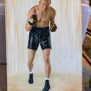 Lot # 23 - Original hand tinted 1930 boxing photo