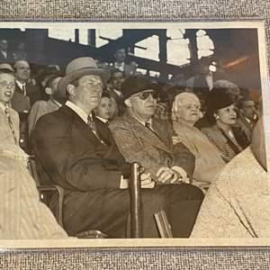 Lot # 37 - 1946 original photo of Gene Tunney NY New Bureau date stamped