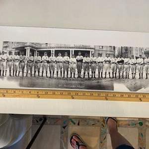 Lot # 41 - 1911 Brooklyn baseball club team photo