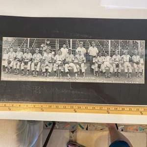 Lot # 42 - 1947 Whiz kids baseball team photo