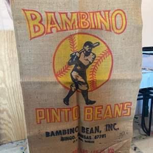 Lot # 44 - Bambino gunny sack