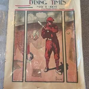 Lot # 63 - 1904 original magazine cover