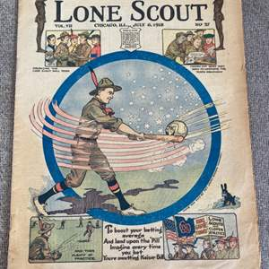 Lot # 66 - Lone scout magazine