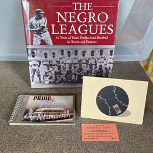 Lot # 73 - Negro league history