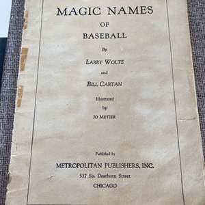 Lot # 75 - Various baseball memorabilia