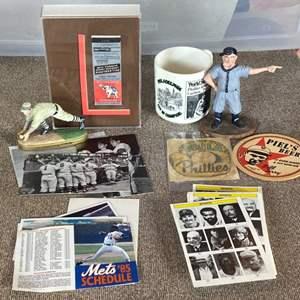 Lot # 76 - Assorted sports memorabilia