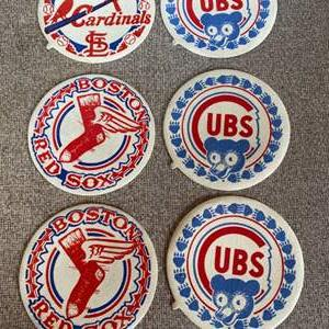 Lot # 78 - Felt front fabric patches