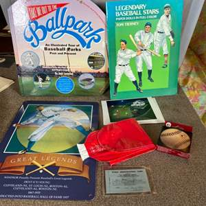 Lot # 88 - Baseball memorabilia