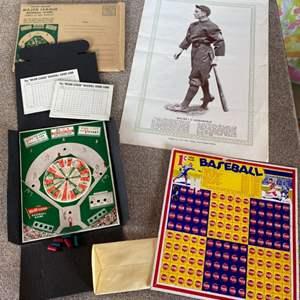 Lot # 89 - Vintage baseball memorabilia