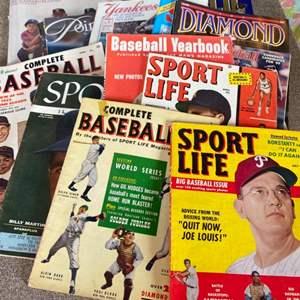 Lot # 90 - Vintage Sports magazines
