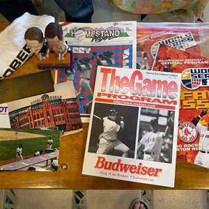 Lot # 91 - Collection of Colorado Rockers Coors stadium items